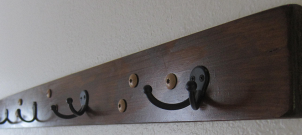 Horizontal Coat Rack
