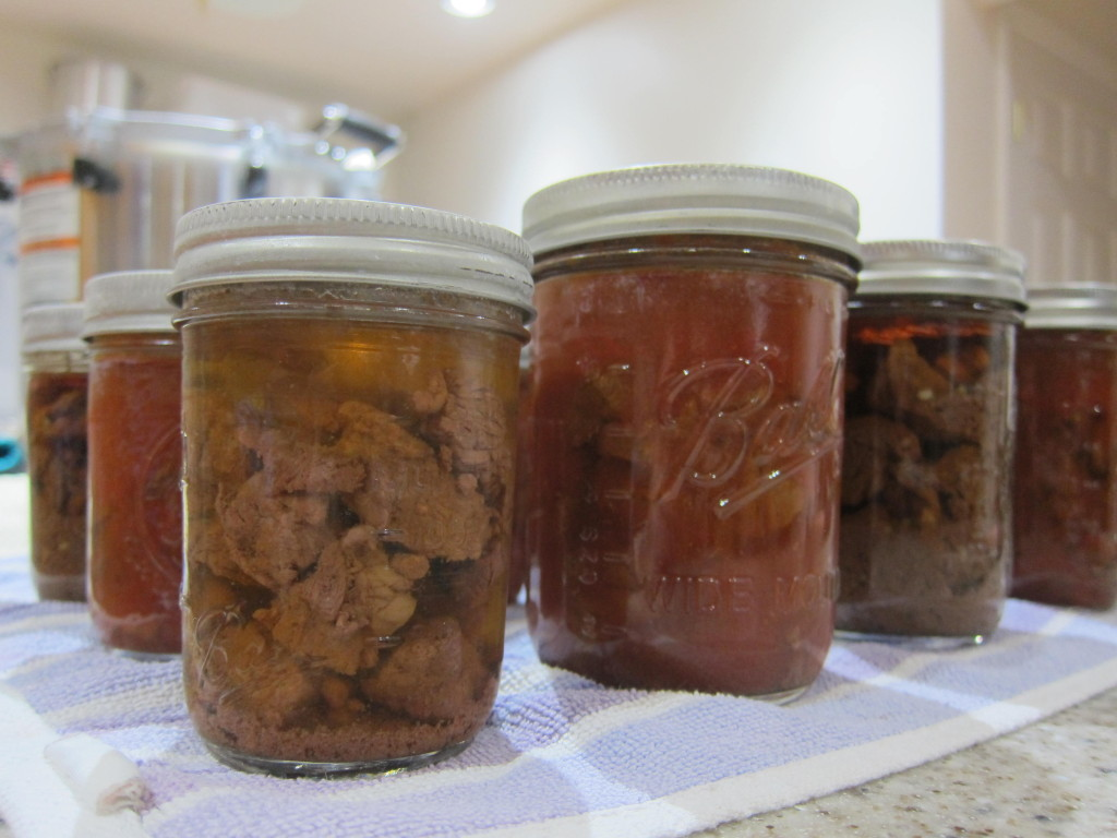 Canning Moose Meat With Tomato Juice Amp Broth Alaska